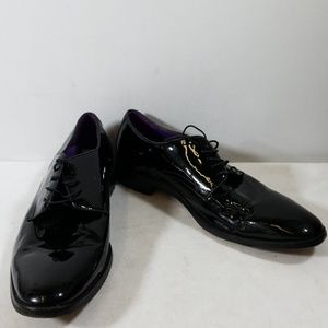Cole Haan Black Leather Oxfords Shoes Size 11